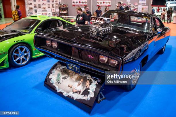 Dodge Charger R/T used on screen by Vin Diesel as the signature car of his character Dominic Toretto in the Fast and The Furious seen on Day 1 of the...