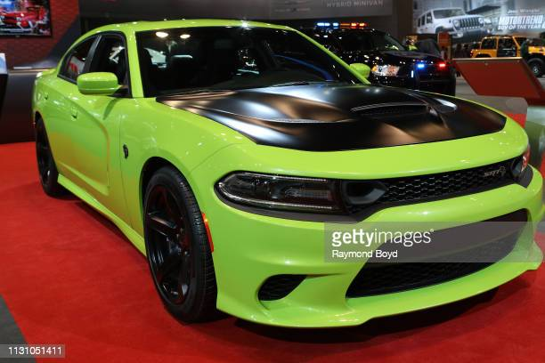 Dodge Charger SRT Hellcat is on display at the 111th Annual Chicago Auto Show at McCormick Place in Chicago, Illinois on February 8, 2019.