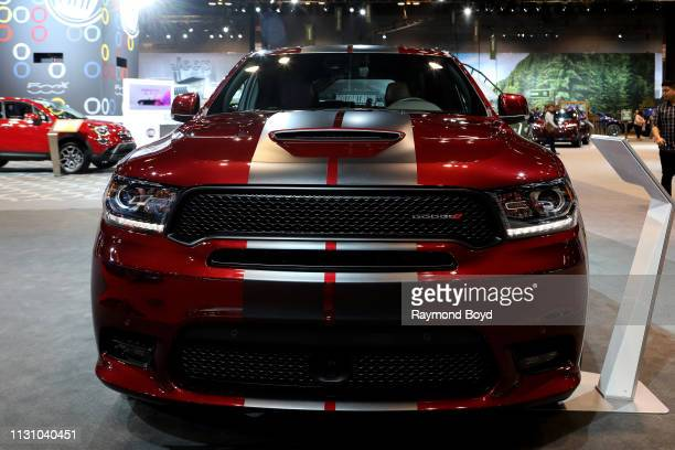 Dodge Durango is on display at the 111th Annual Chicago Auto Show at McCormick Place in Chicago Illinois on February 8 2019