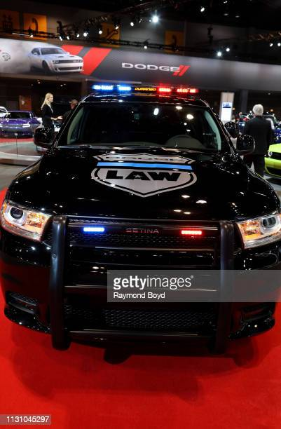 Dodge Durango Pursuit is on display at the 111th Annual Chicago Auto Show at McCormick Place in Chicago Illinois on February 8 2019