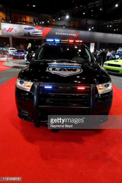 Dodge Durango Pursuit is on display at the 111th Annual Chicago Auto Show at McCormick Place in Chicago, Illinois on February 8, 2019.