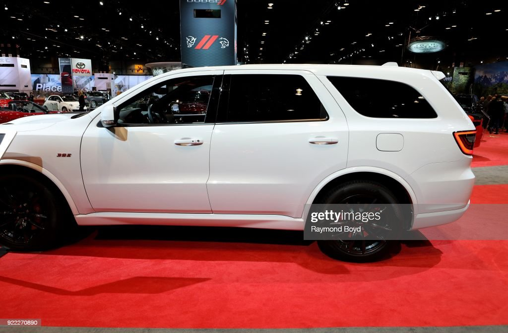 Dodge Durango SRT is on display at the 110th Annual Chicago Auto Show at McCormick Place in Chicago, Illinois on February 9, 2018.