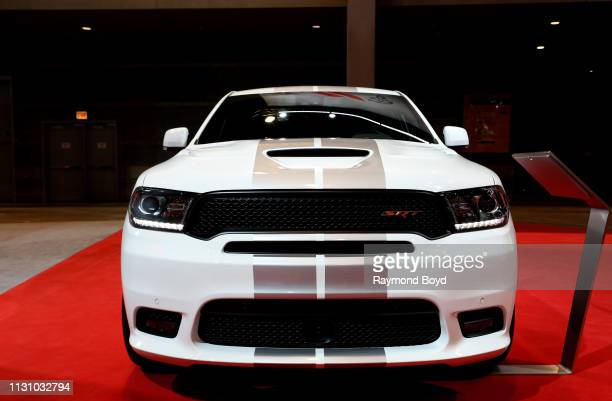 Dodge Durango SRT is on display at the 111th Annual Chicago Auto Show at McCormick Place in Chicago Illinois on February 8 2019