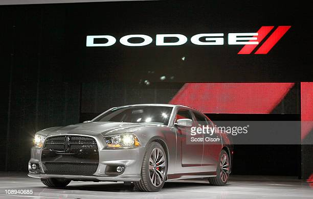 Dodge introduces the 2012 Charger SRT8 at the Chicago Auto Show on February 9 2011 in Chicago Illinois The show opened for media previews today It is...