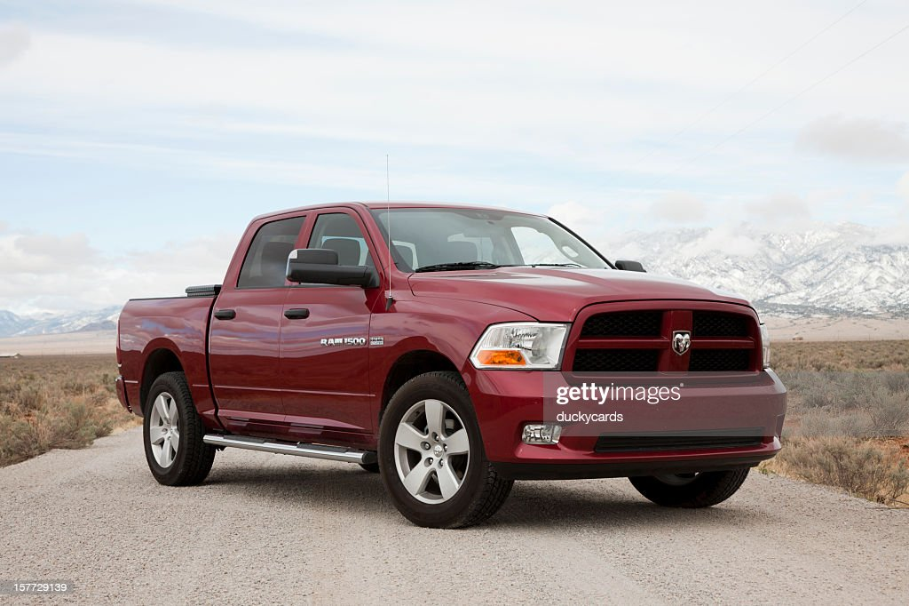 Dodge Ram 1500 Express Truck 2012 with Hemi : Stock Photo