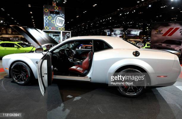Dodge SRT Hellcat Redeye is on display at the 111th Annual Chicago Auto Show at McCormick Place in Chicago Illinois on February 8 2019
