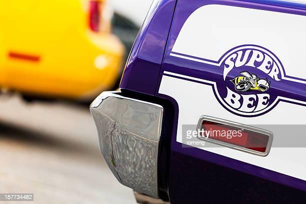 dodge super bee logotipo - ford mustang fotografías e imágenes de stock