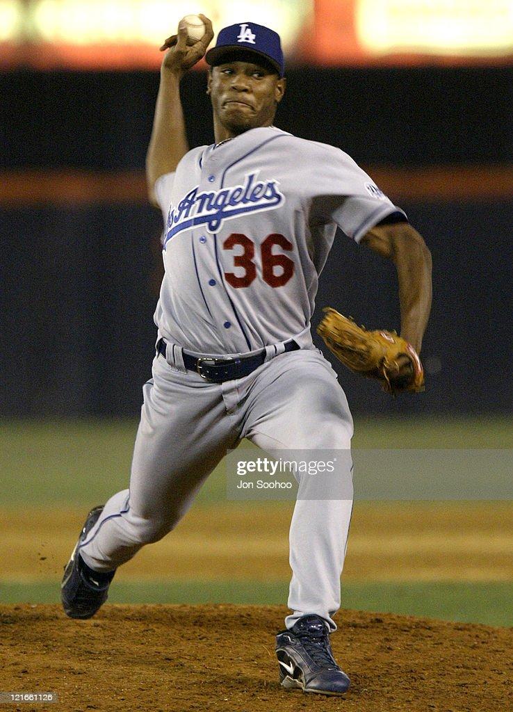 Los Angeles Dodgers vs San Diego Padres - September 22, 2003