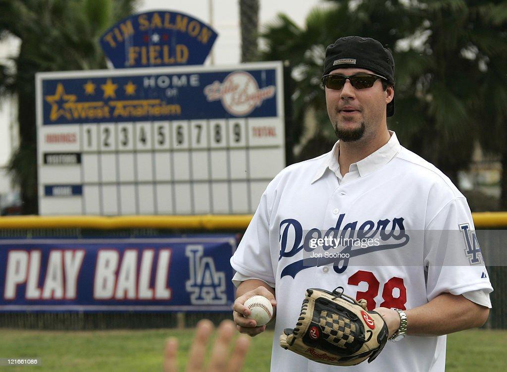 Los Angeles Dodgers Caravan At ESPN Zone