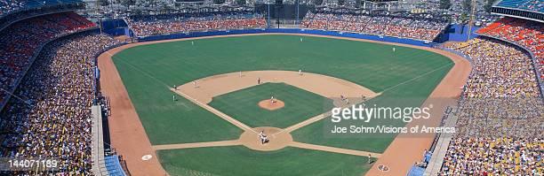 Dodger Stadium Dodgers v Astros Los Angeles California