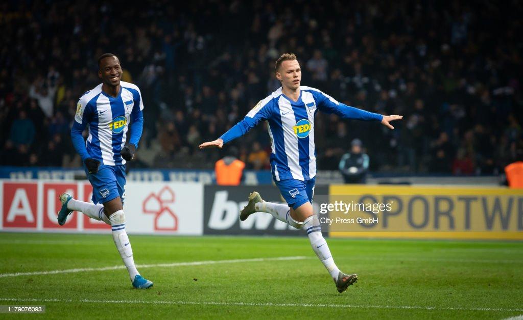 Hertha BSC v Dynamo Dresden - DFB Cup : News Photo