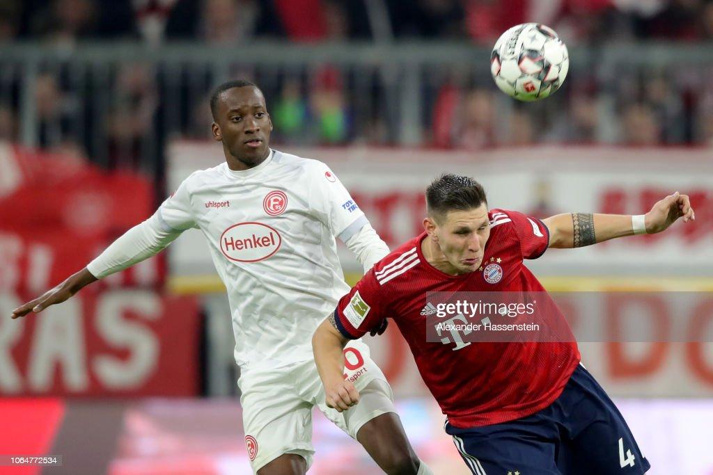 FC Bayern Muenchen v Fortuna Duesseldorf - Bundesliga : News Photo
