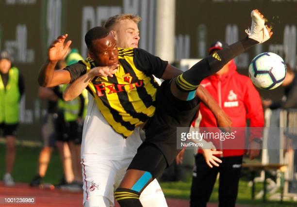 Dodi Lukebakio of Watford During Friendly match between FC Koeln and Watford at Kitzbuehel Austria on 17 July 2018