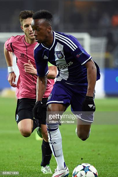 Dodi of Rsc Anderlecht in action during the UEFA Youth League Quarter Finals match between RSC Anderlecht and FC Porto in Anderlecht Belgium