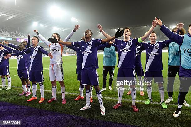 Dodi of Rsc Anderlecht SVILAR Mile of Rsc Anderlecht in action during the UEFA Youth League Quarter Finals match between RSC Anderlecht and FC Porto...