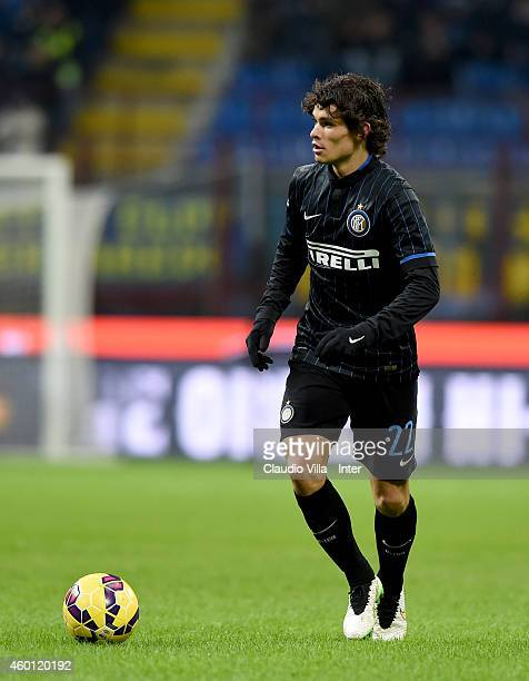Dodo of FC Internazionale in action during the Serie A match between FC Internazionale Milano and Udinese Calcio at Stadio Giuseppe Meazza on...