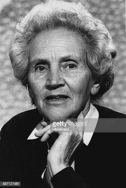 Doenhoff, Marion Graefin , Journalistin, Publizistin, D, Herausgeberin der Wochenzeitung 'Die Zeit', - Portrait, - 1984