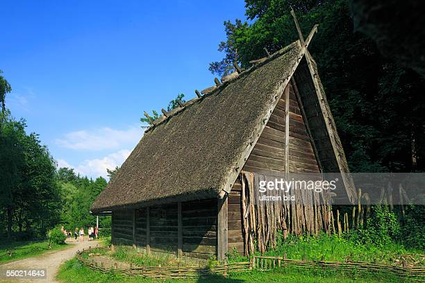 DOerlinghausen Teutoburgian Forest Teutoburg Forest / Egge Hills Nature Park East Westphalia North RhineWestphalia NRW archaeological Openair museum...