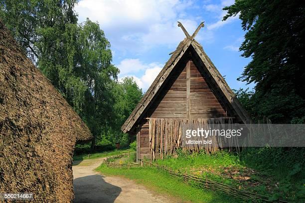 Oerlinghausen, Teutoburgian Forest, Teutoburg Forest / Egge Hills Nature Park, East Westphalia, North Rhine-Westphalia, NRW, archaeological Open-air...