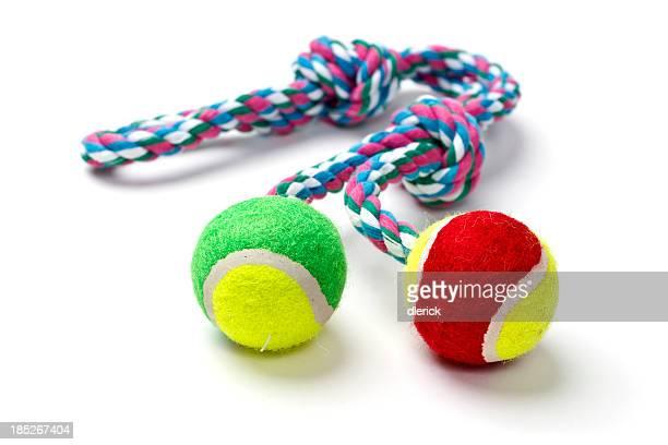 Cão bola com Brinquedo de Corda