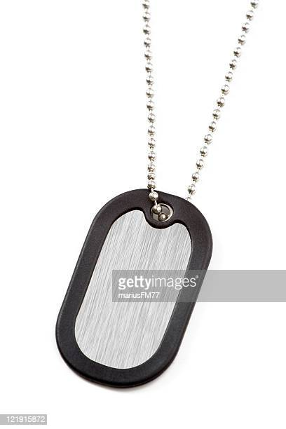 dog tag - military dog tags stock pictures, royalty-free photos & images