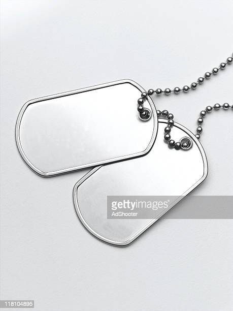 dog tags - military dog tags stock pictures, royalty-free photos & images