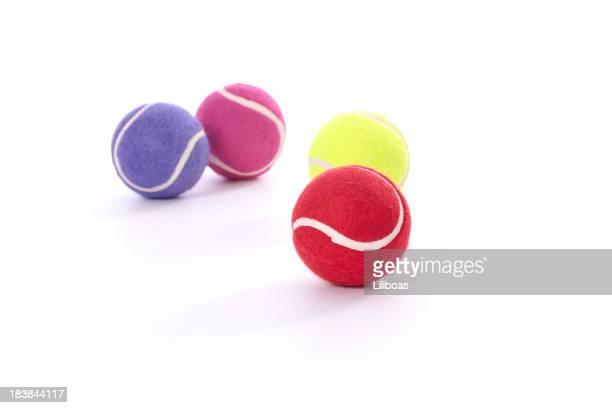 テニスボールの犬 - イヌのおもちゃ ストックフォトと画像