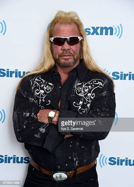 Dog the Bounty Hunter Duane Chapman visits the SiriusXM Studios on April 24 2015 in New York City