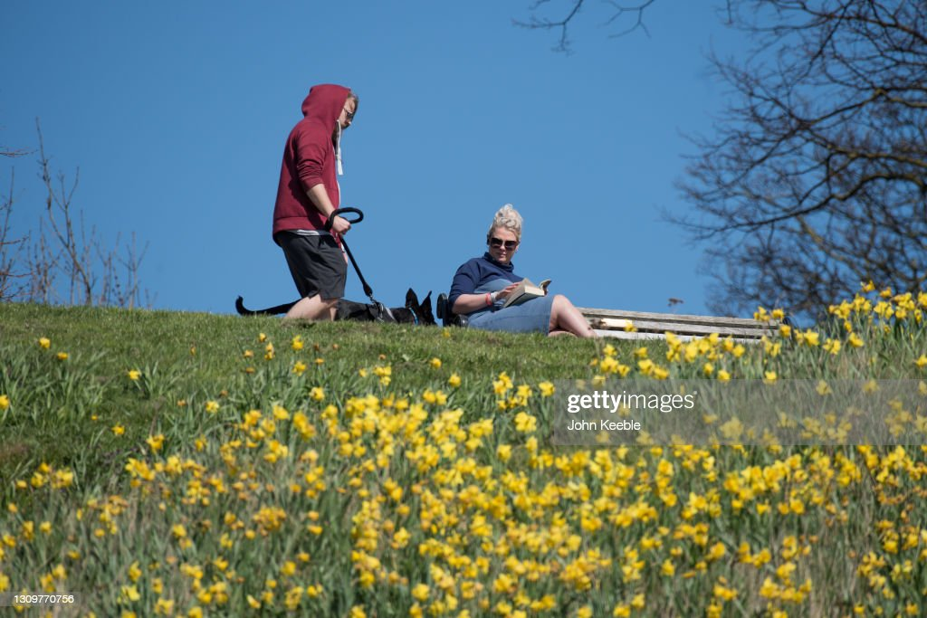 Lockdown Rules Relax In England : News Photo