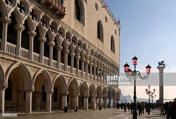 Doge's palace and Lion of St. Mark, Venice