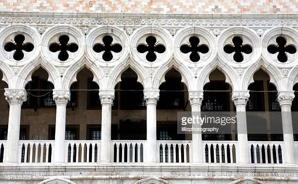 Doges Palace Detail Venice Italy