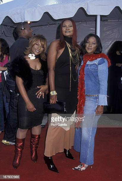 Doggy's Angels attends Seventh Annual Soul Train Lady of Soul Awards on August 28 2001 at the Santa Monic Civic Auditorium in Santa Monica California