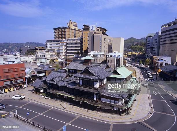 dogo hot spring, matsuyama city, ehime prefecture, japan - matsuyama ehime stock pictures, royalty-free photos & images