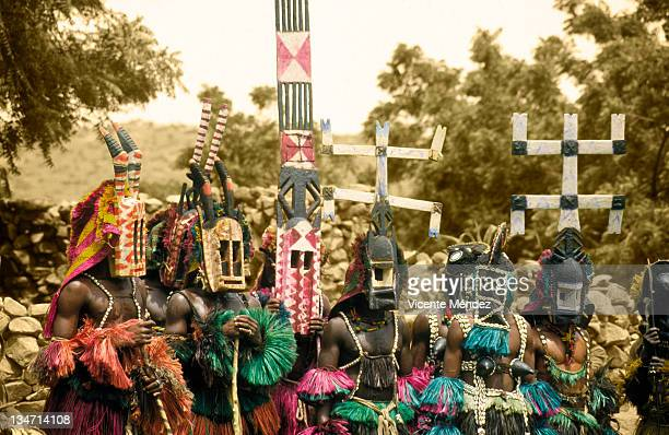 Dogon dancing in Nombori