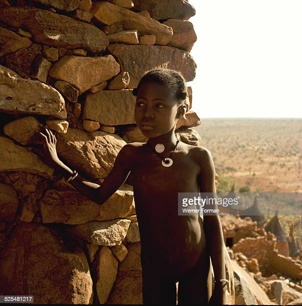 A Dogon girl Mali late 1950's early 1960's
