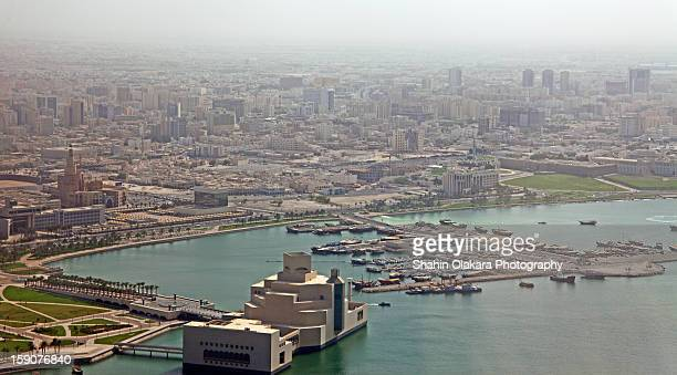 Doha arial shot