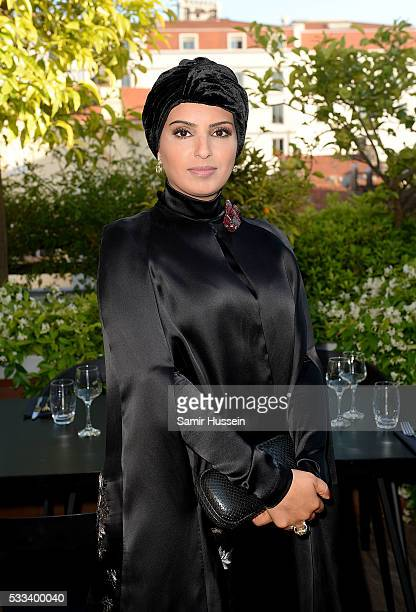 Doha Film Institue CEO Fatma Al Remaihi attends a dinner to celebrate Asghar Farhadi's The Salesman which premiered at the annual 69th Cannes Film...