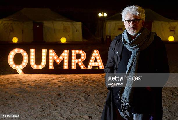 Doha Film Institute Artistic Advisor Elia Suleiman at the Closing Night event at a desert camp on day six of Qumra the second edition of the industry...