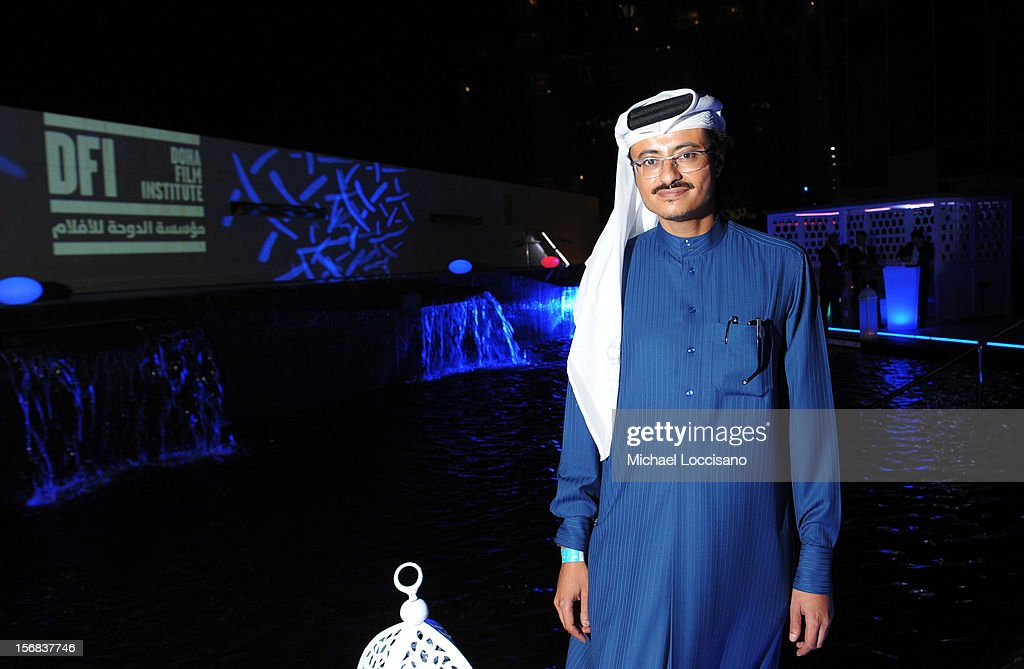 Doha Film Institute CEO Abdulaziz Bin Khalid Al-Khater attends the Awards After Party during 2012 Doha Tribeca Film Festival at W Hotel on November 22, 2012 in Doha, Qatar.