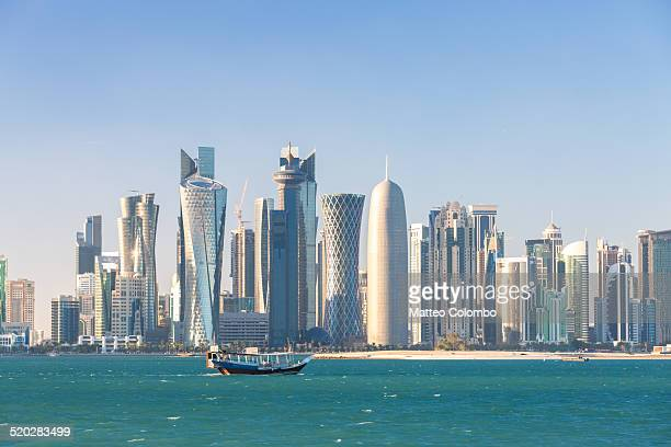 Doha financial center skyline, Qatar