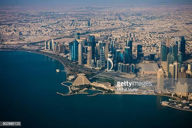 Doha, Qatar, Aerial