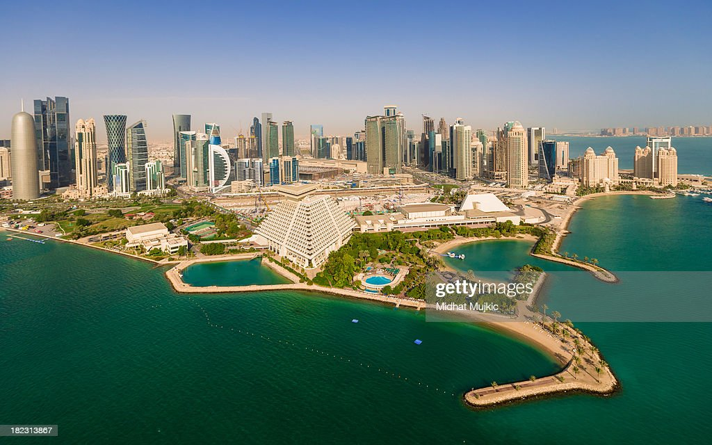 Doha, Qatar : Stock Photo