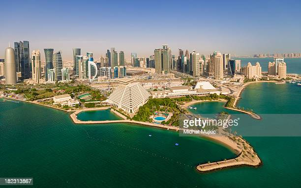 doha, qatar - doha stock pictures, royalty-free photos & images
