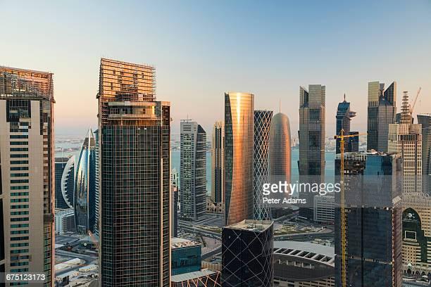 Doha skyline,Qatar, Middle East