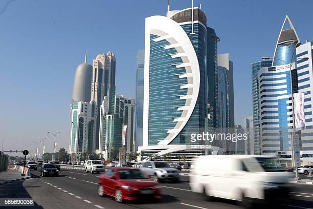 Doha Stadt La Corniche
