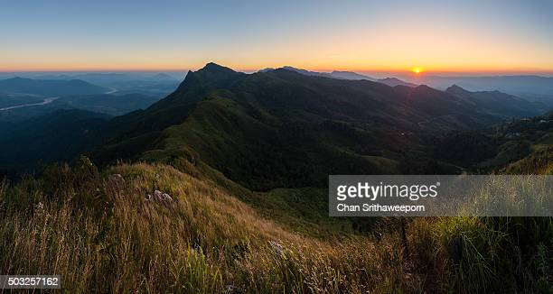 Doi Pha Tang in Chiangrai province of Thailand.