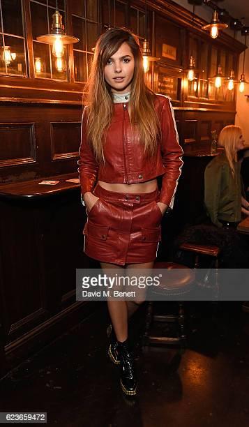 Doina Ciobanu attends Frame Pub Quiz on November 16 2016 in London England