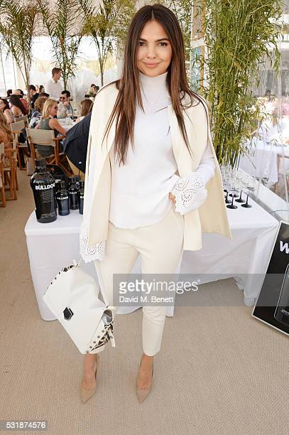 Doina Ciobanu attends InStyle's Spirit In Film lunch in partnership with Bulldog Gin during the 69th Cannes Film Festival at Miramar Beach on May 17...