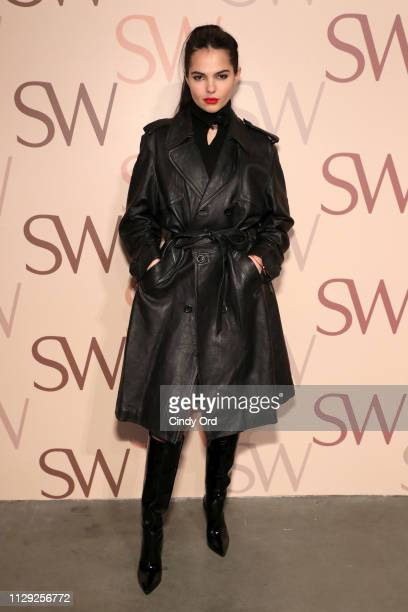Doina Ciobanu attends Stuart Weitzman Spring Celebration 2019 on February 12 2019 in New York City