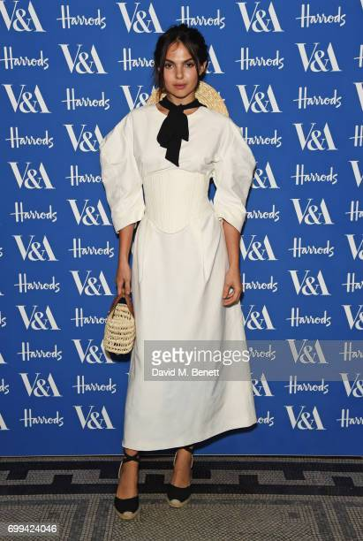 Doina Ciobanu attends the 2017 annual VA Summer Party in partnership with Harrods at the Victoria and Albert Museum on June 21 2017 in London England